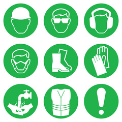 Health and Safety Icon collection
