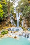 Fotoroleta Kuang Si Falls