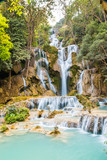Fototapeta Kuang Si Falls