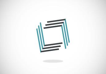 square line vector logo
