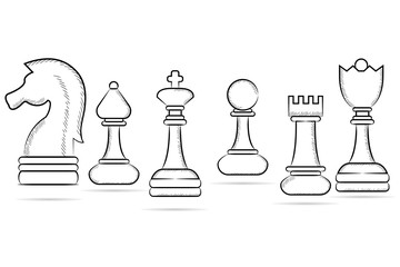 sketch chess