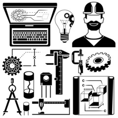 engineering elements and mechanical tools
