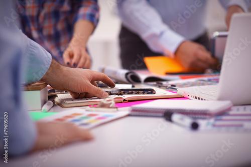 Teamwork Business Meeting Concept