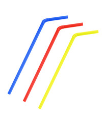 colorful straw drinking collection