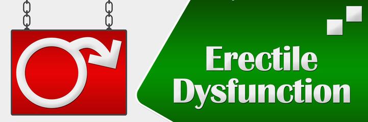 Erectile Dysfunction Signboard Horizontal