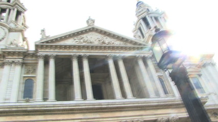 St Paul PAN backlit London United Kingdom