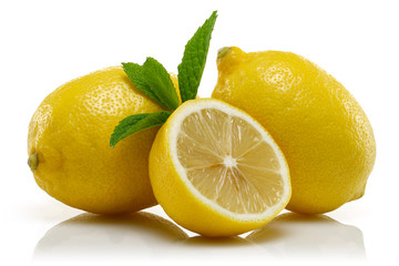Lemons and mint