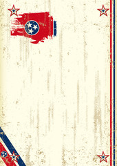 Tennessee retro background