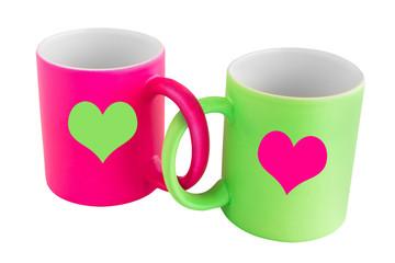 Zwei Kaffeebecher