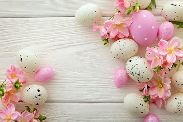easter frame background