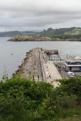 Darsena de puerto asturiano