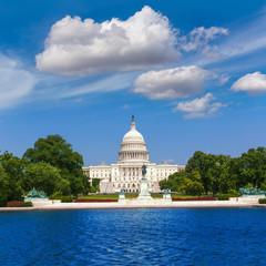 Capitol building Washington DC sunlight USA