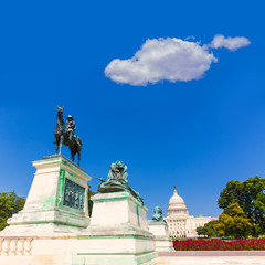 Capitol building Washington DC sunlight congress