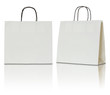 paper bag on white background - 79615402