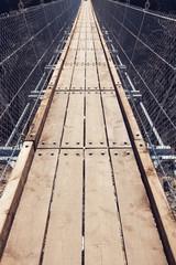 Tibetan suspension bridge
