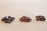 3種類のコーヒー豆