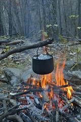 Bonfire and pot 15