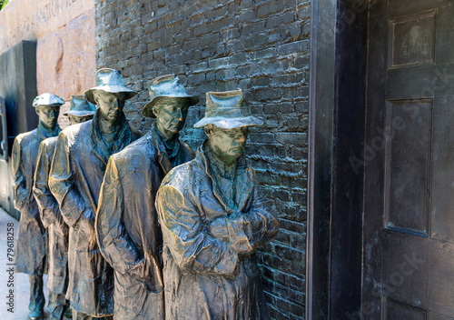 Fotobehang Historisch mon. Franklin Delano Roosevelt Memorial Washington