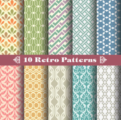 seamlessly retro patterns