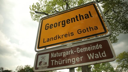 City Plate - Georgenthal Germany