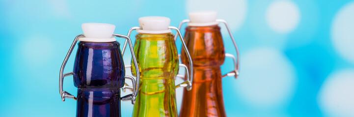 flaschenhälse mit bügelverschluss