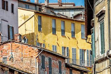 Particolare palazzo di Perugia