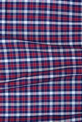 Stoff Muster Karo Blau Rot Weiß