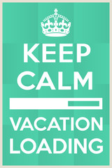 Vacation loading