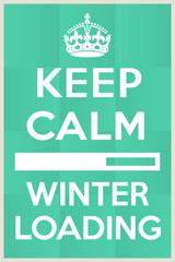 Winter loading