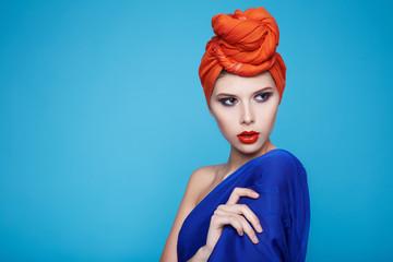 Beautiful sexy woman makeup  manicure spa beauty salon