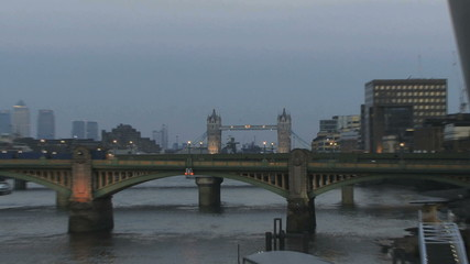 ZO Tower bridge thames river at night