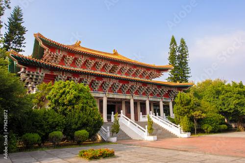 Foto op Aluminium Beijing Martyrs' shrine in Tainan, Taiwan