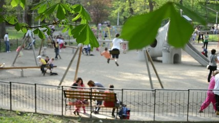 Childrens at Play Ground