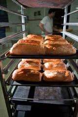 Freshly baked neapolitan cakes