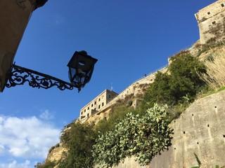 Pizzo Calabro panoramica castello Calabria Italia, turismo