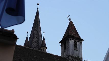 Crooked Cross on the Steeple