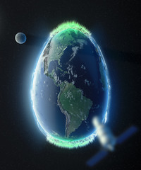 Easter Egg Earth