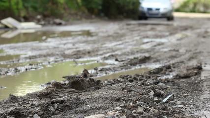 Dirt Road after Rain