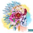Ethnic skull - 79630634