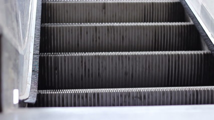 Escalator Stairs Close Up