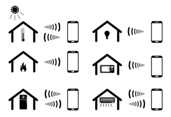 controlling home appliances wirelessly