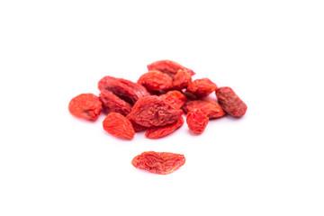 dried goji berries fruit - lycium barbarum