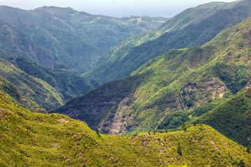 Mountain scenery, Madeira, Portugal