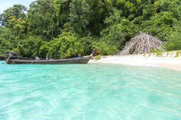 Boat in Thailand Island