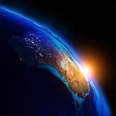 Planet night map