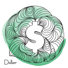 Dollar Currency sign.
