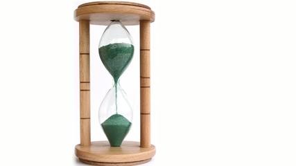 Green Sand Hourglass