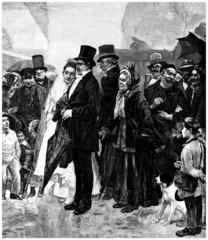 Wedding - Mariage - Hochzeit - 19th century