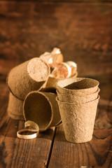 Brown Peat Pots