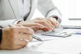 Reviewing financial figure